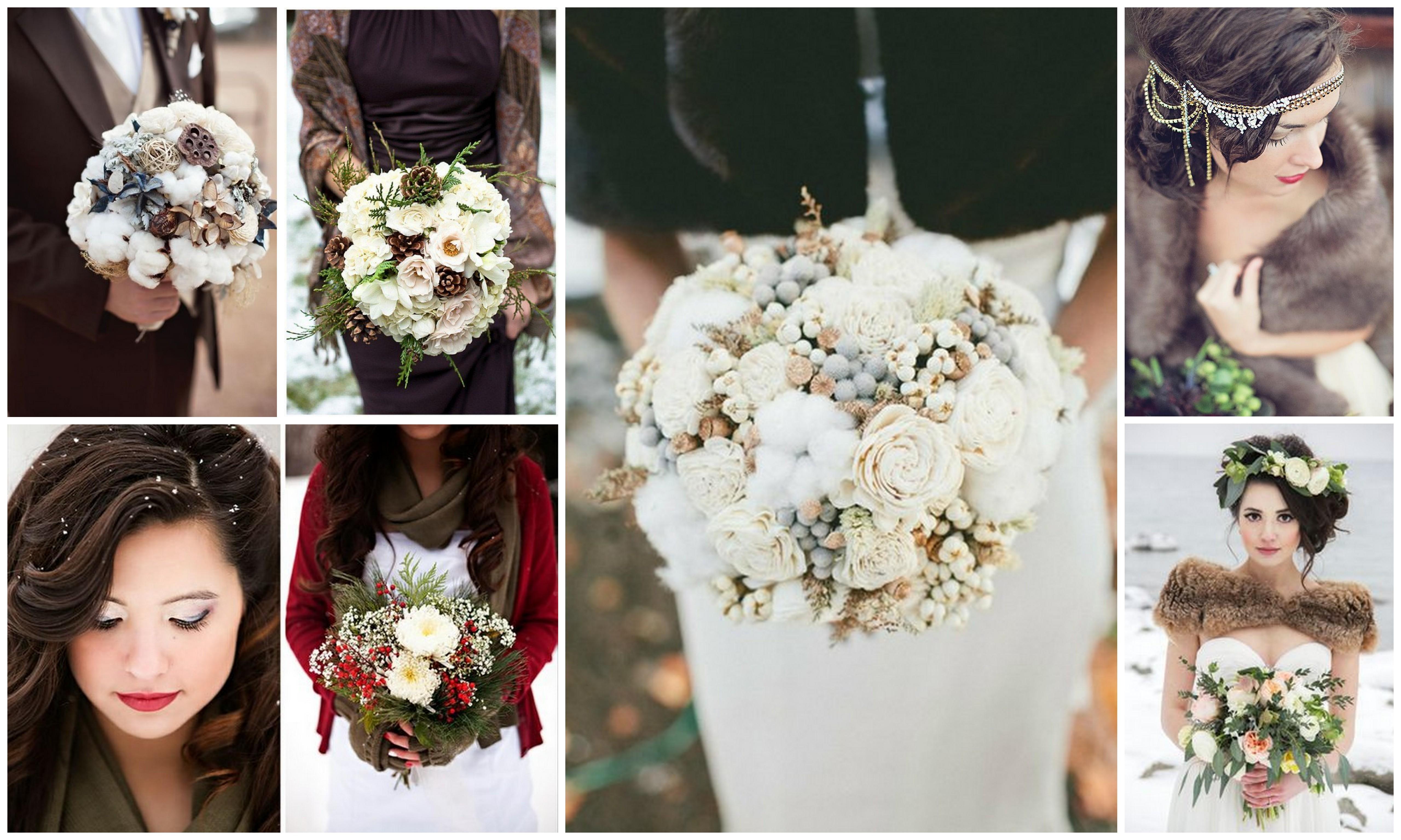 свадебный макияж, прическа, букет,свадебная фотосессия зимой.