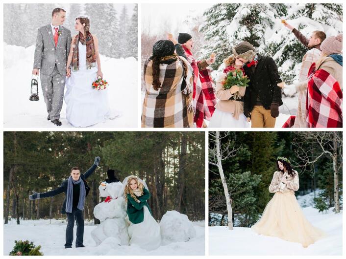 Свадьба зимой где фотографироваться в спб это