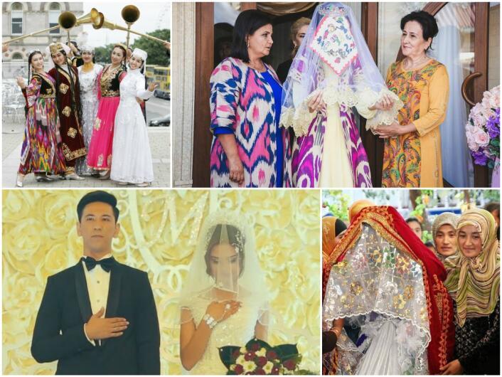 Поздравления на свадьбу на узбек