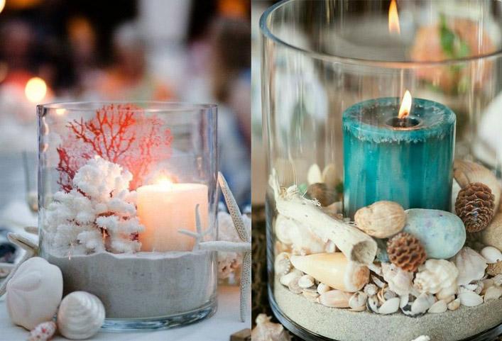Морская свадьба оформление