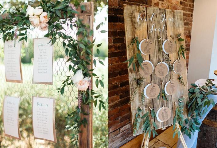 декор рустик свадьбы