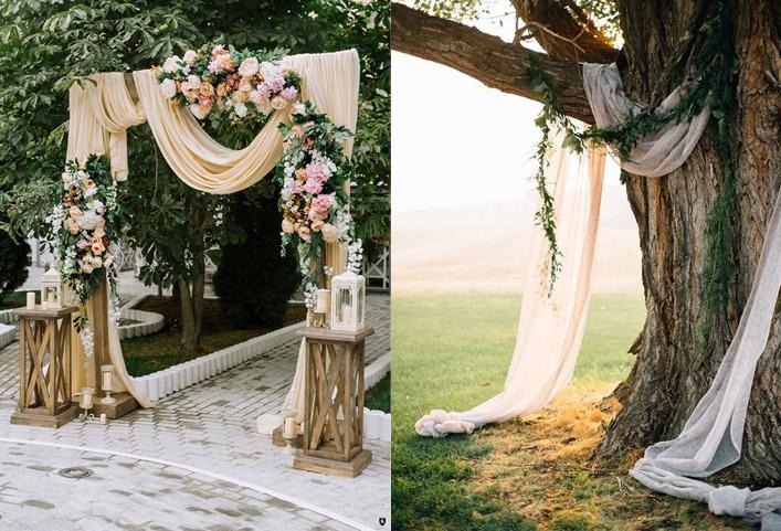 рустик свадьба оформление