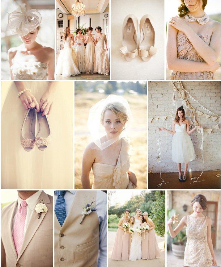 Свадебный декор. Свадьба в стиле песочного бежа.