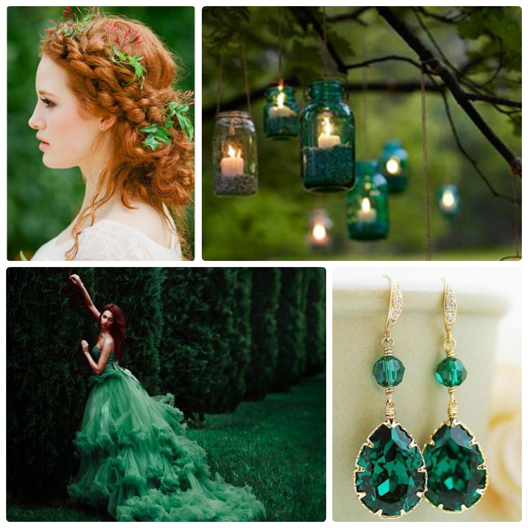 рыжеволосая невеста палитра
