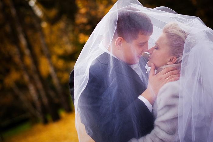 Идеи для свадебных поцелуев