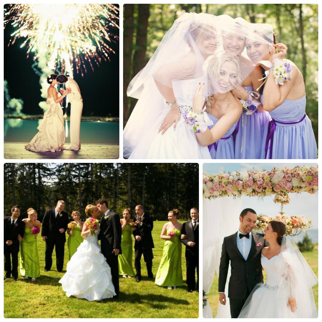 Европейская свадьба фото
