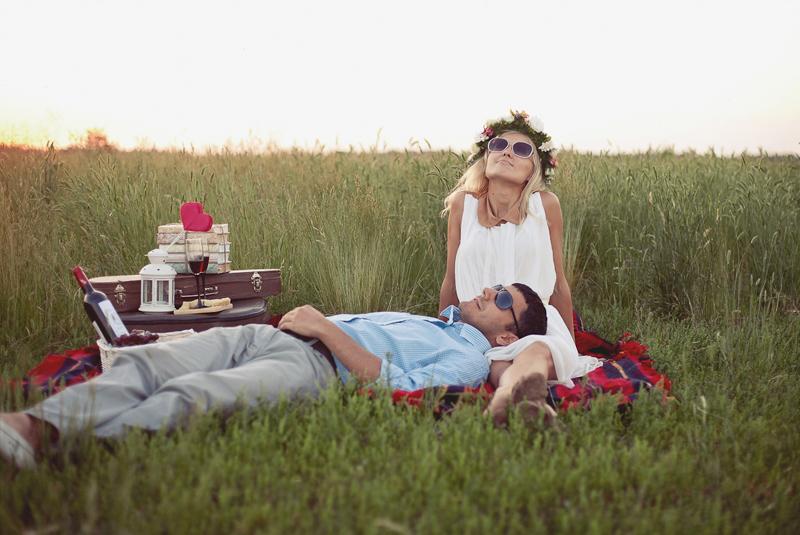 идеи для фото летом: пикник