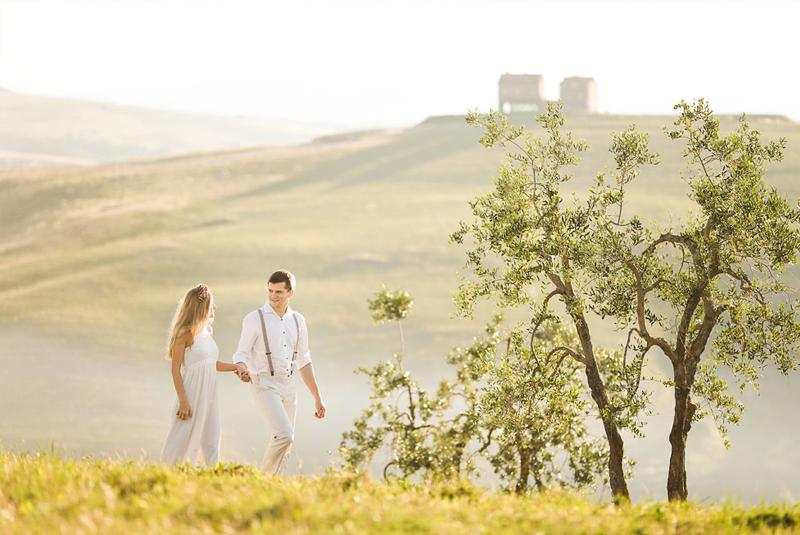 свадебные фото идеи летом на природе