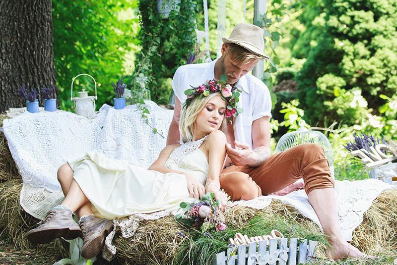 свадебная фотосъемка: пикник