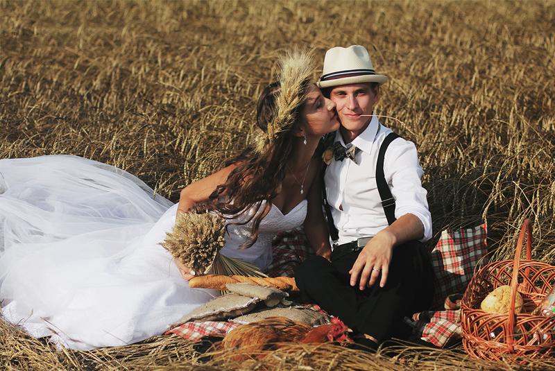 пикник, свадебная фотосъемка