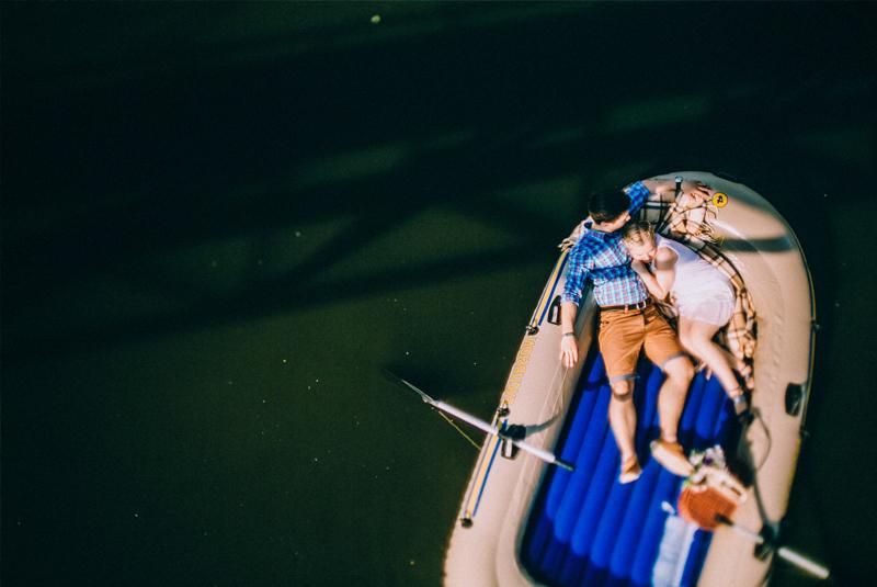 лодка свадебная