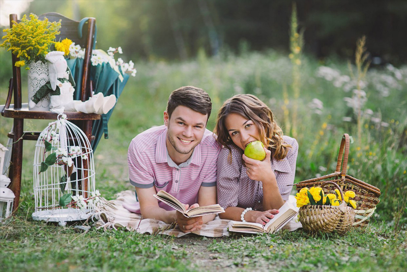 идеи для фото: пикник