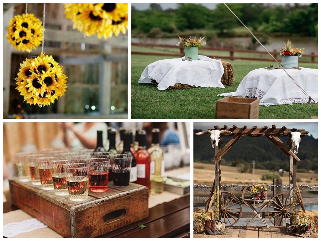 Свадьба в стиле кантри фото