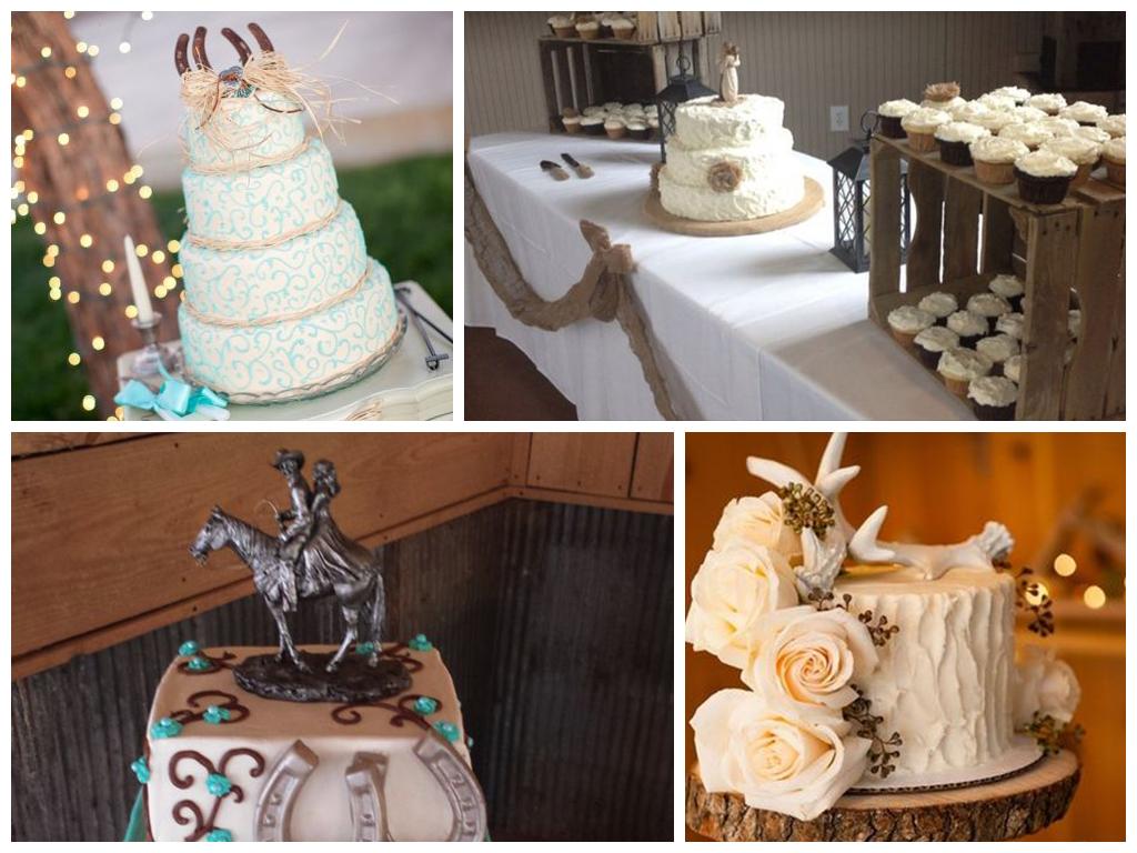 Свадебный торт в стиле кантри фото