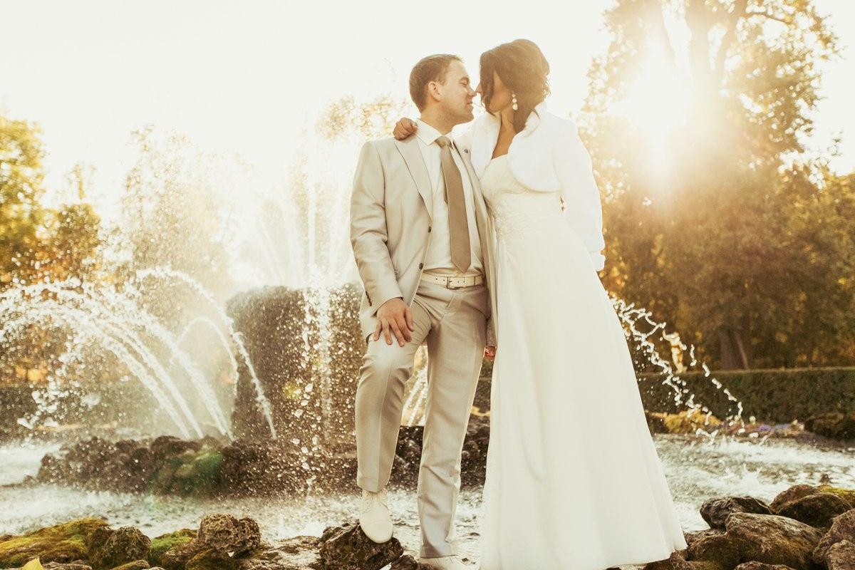петергоф, свадебная фотосессия