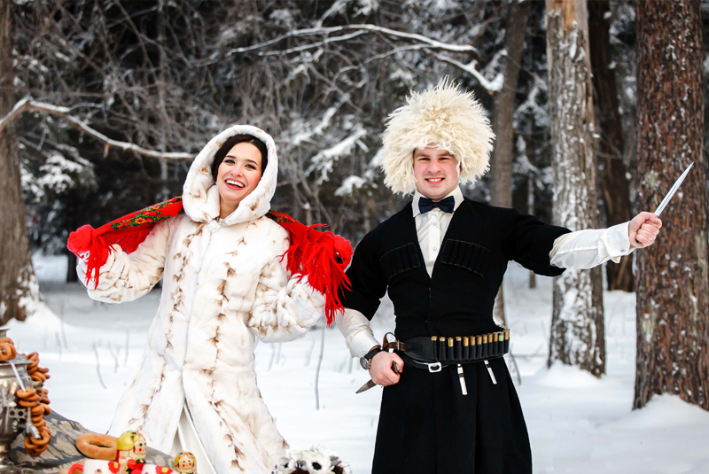 свадьба зимой где провести