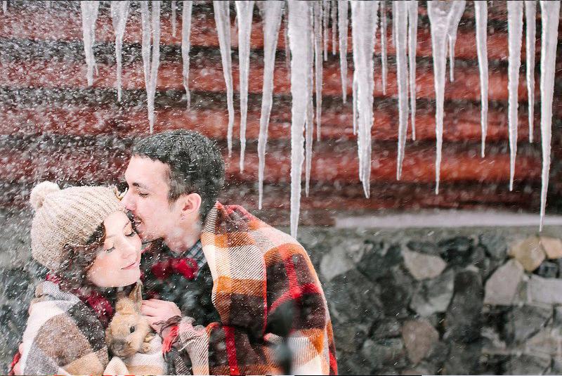 свадьба зимой спб