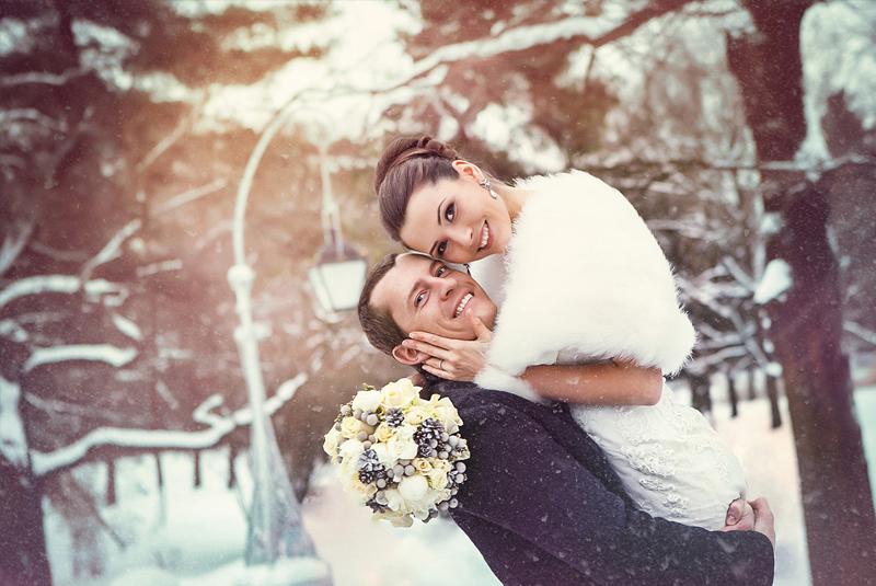 цвет свадьбы зима