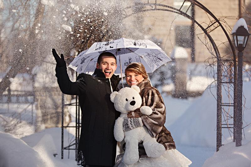 варианты свадьбы зимой