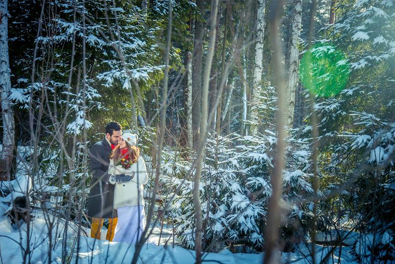 свадьба зимой цены