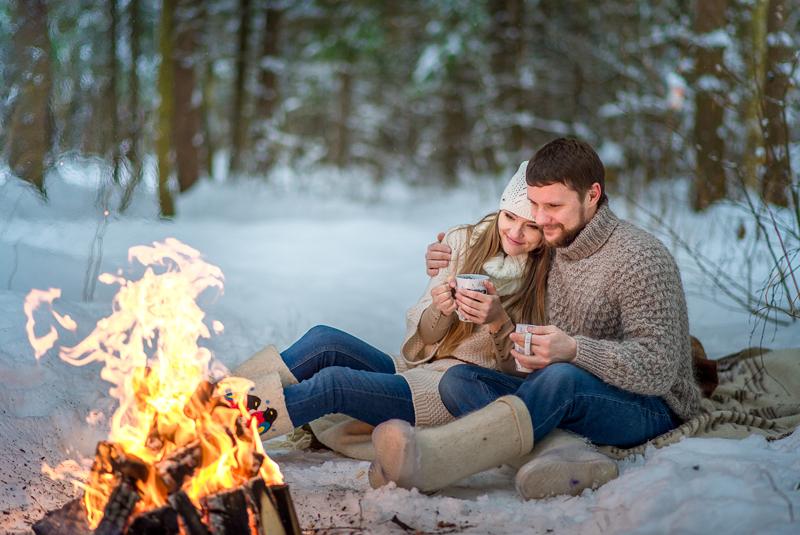 бюджетная свадьба зимой