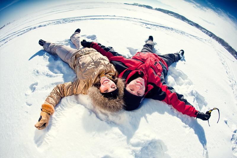 фотографии свадьбы зимой