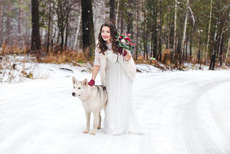 русско народная свадьба зимой