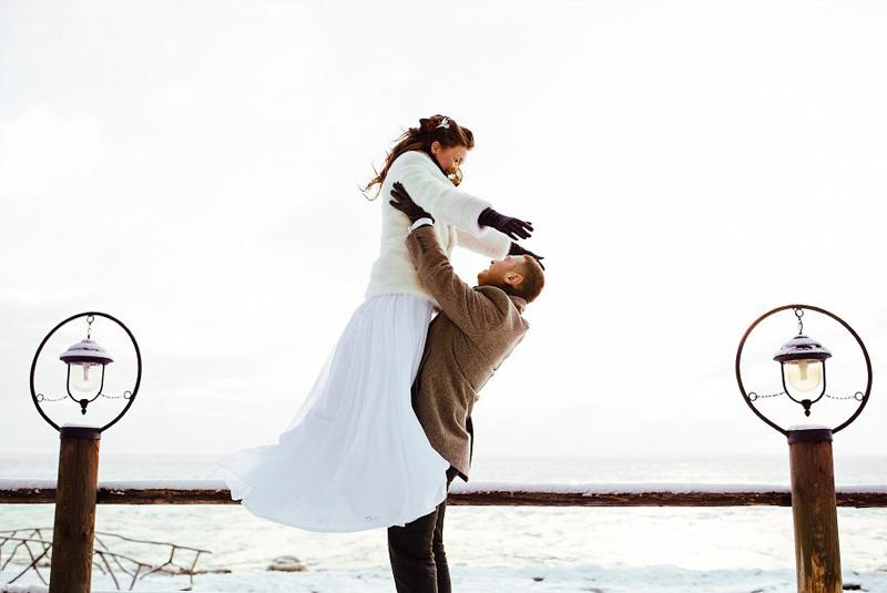 свадьба зимой или летом