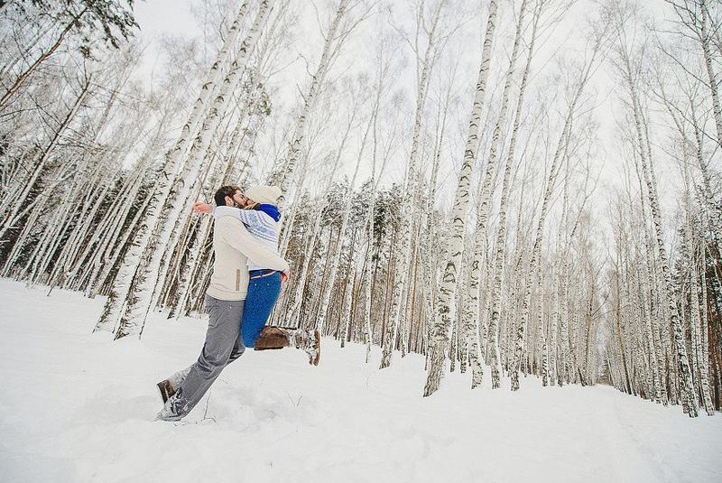 идеи для свадьбы зимой оформление