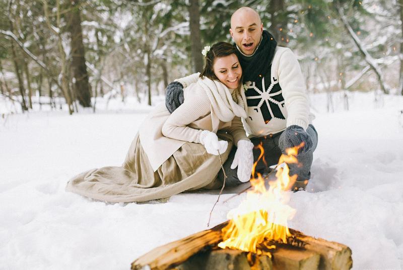 свадьба зимой спб фото
