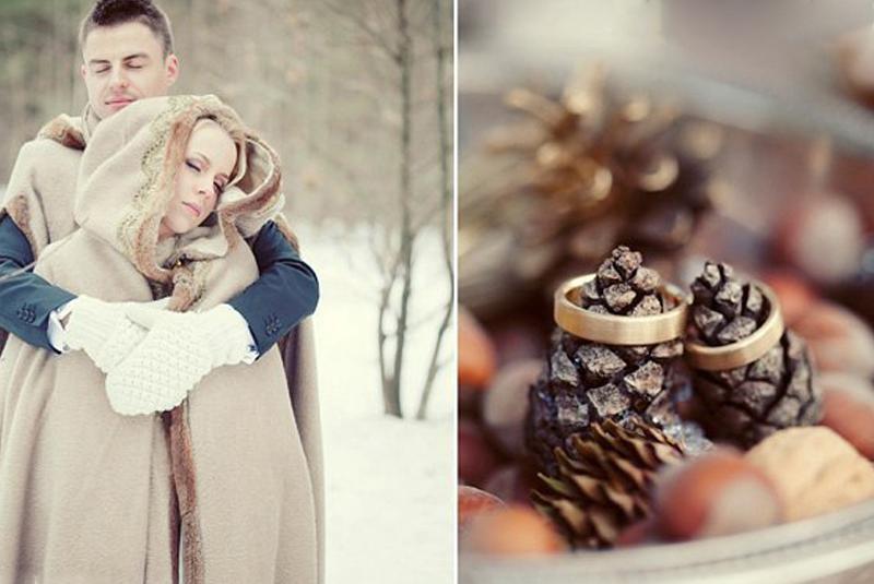 в чем пойти на свадьбу зимой