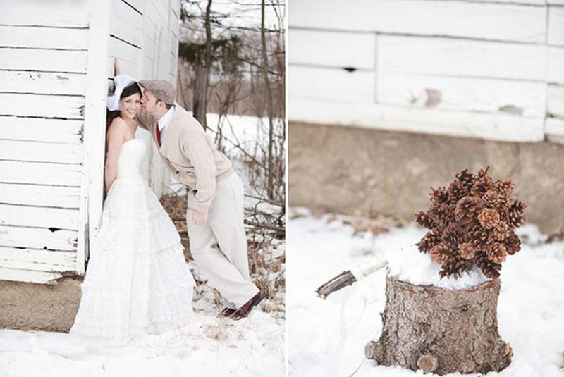 пригласительные на свадьбу зимой