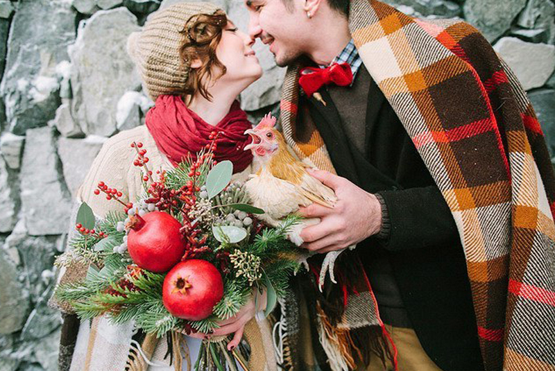 свадьба зимой играть