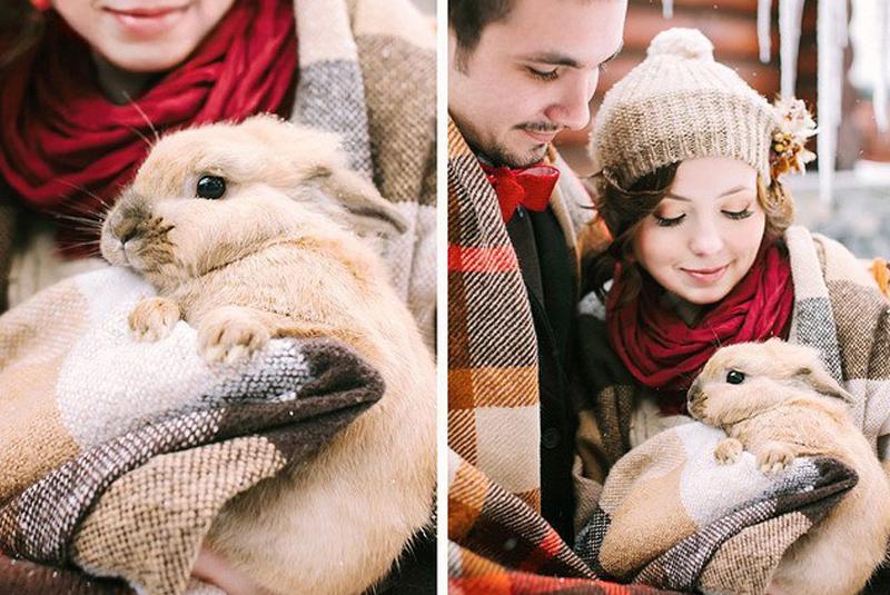 оригинальные свадьбы зимой