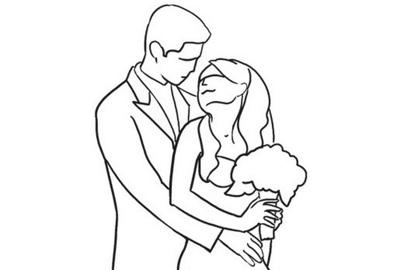 свадебные позы для невесты