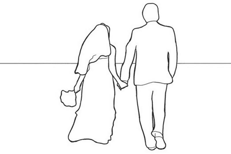 идеи поз для свадебной фотосессии