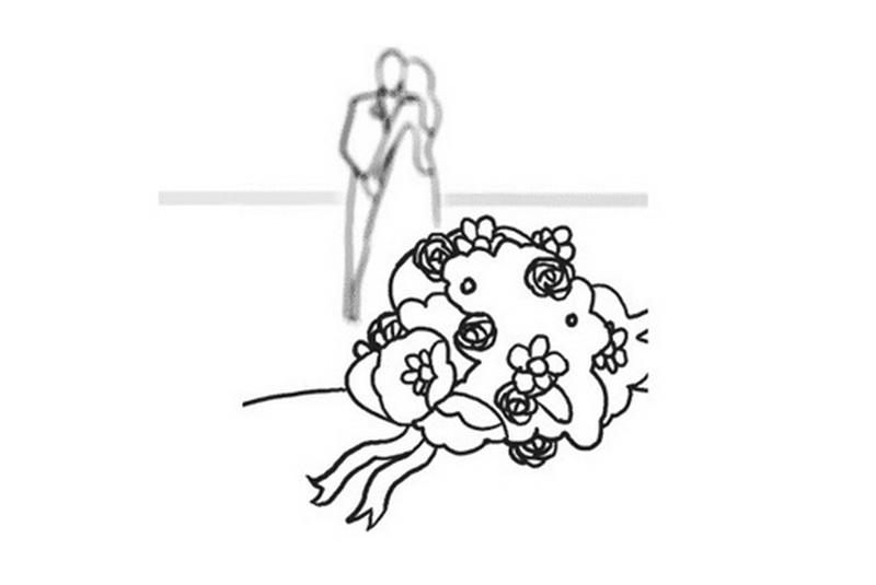 позы в свадебном платье