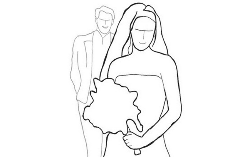свадебные позы для жениха