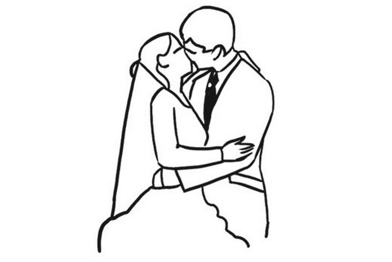 красивые свадебные позы