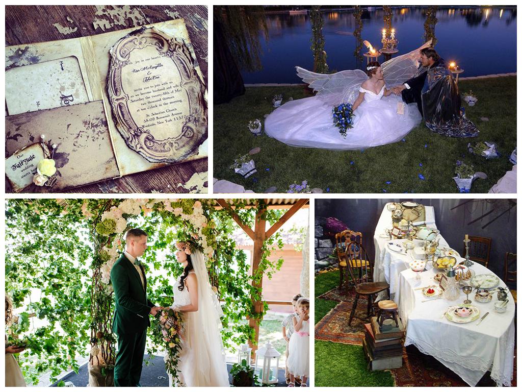 свадьба в сказочном стиле фото