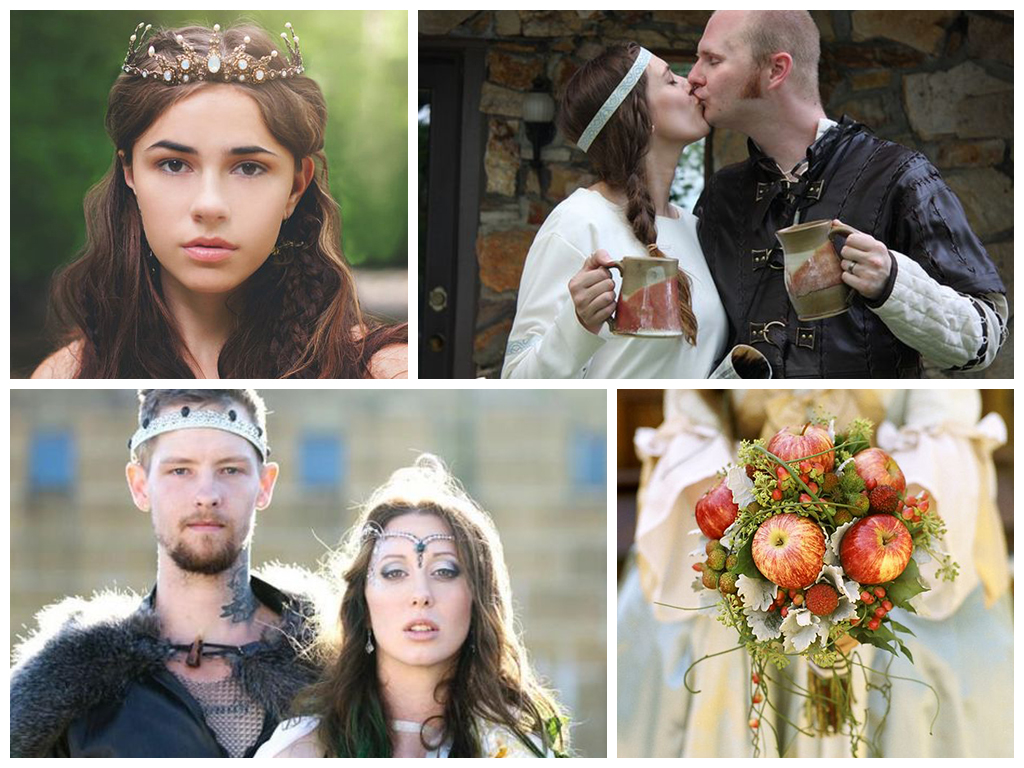Платья средневековья фото