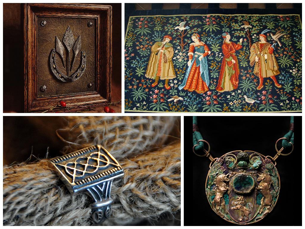 Свадьба в средневековом стиле фото