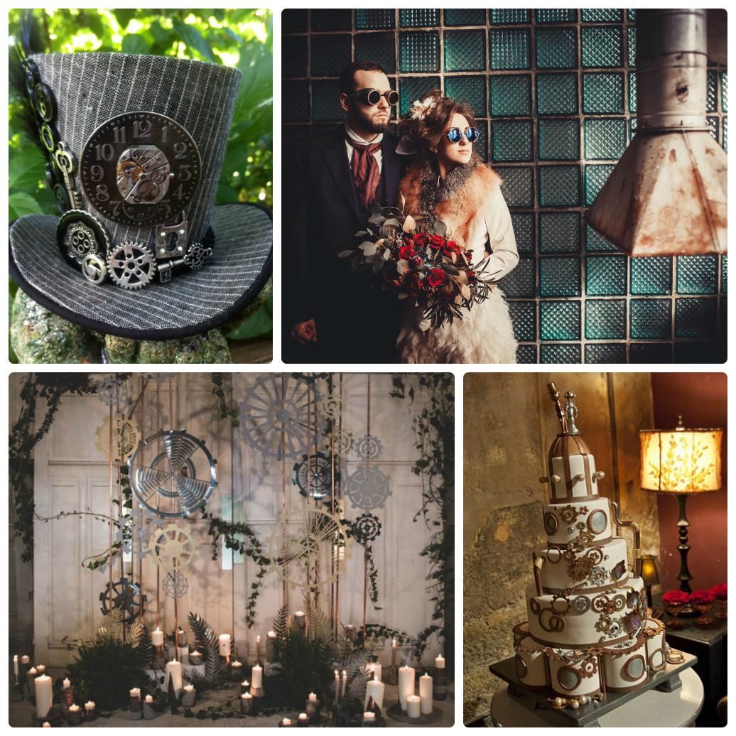 Стимпанк свадьба фото