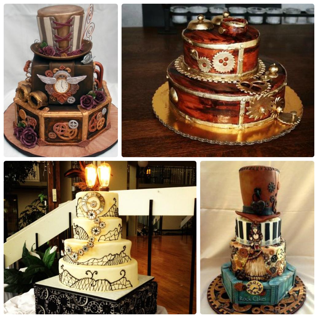 Торт в стиле Стипманк