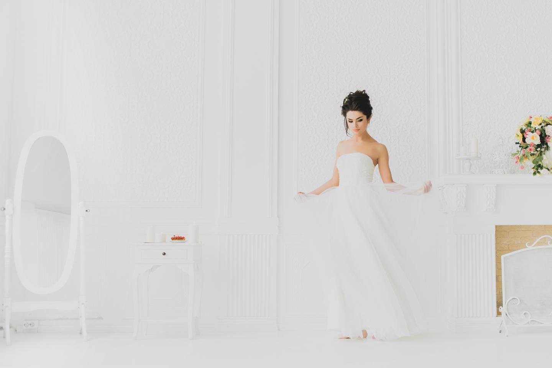 утро невесты в фотостудии питера