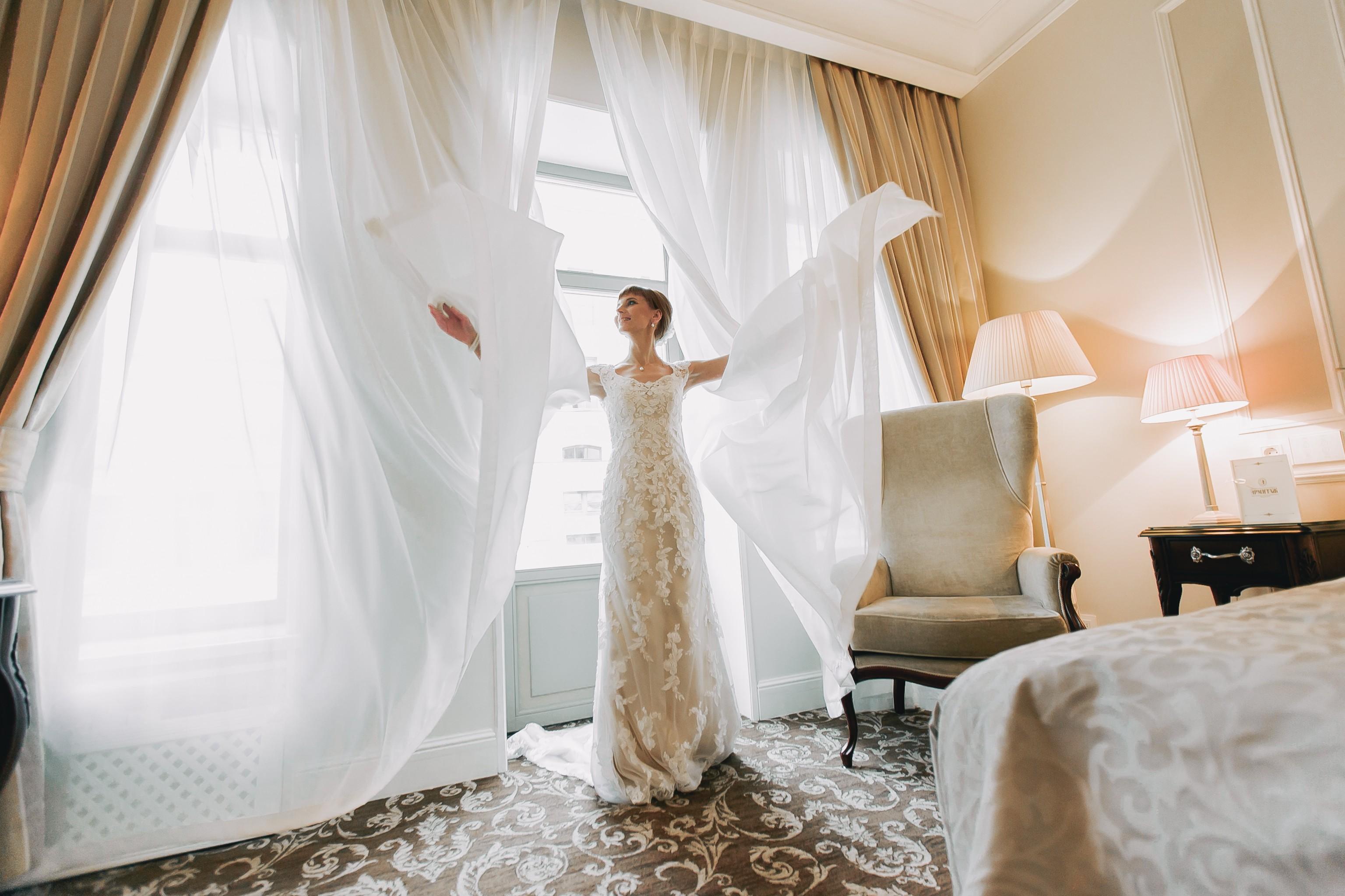 утро невесты, фото, свадьба, отель