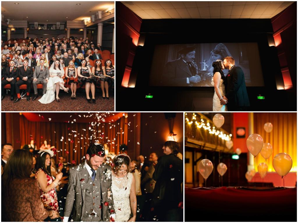 бюджетная свадьба в кинотеатре