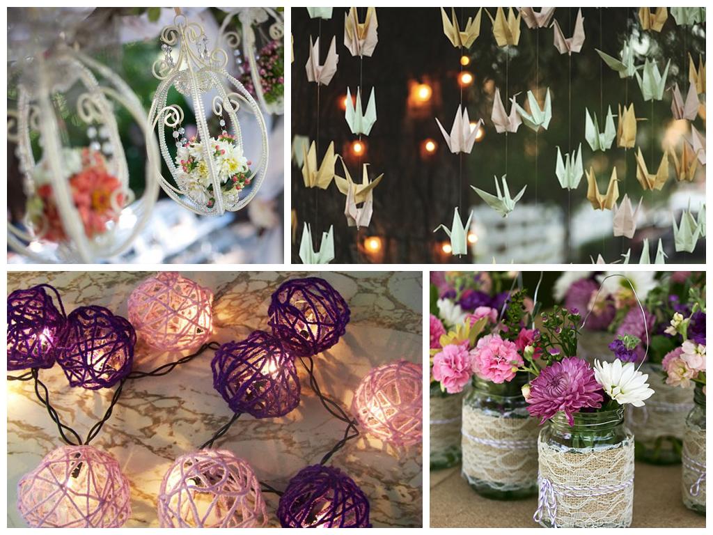 Идеи свадебного декора своими руками фото