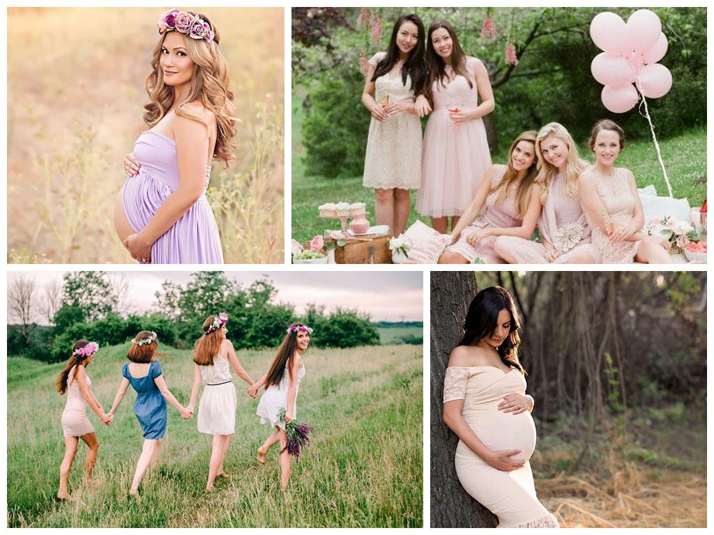 Девишник для беременной невесты 32