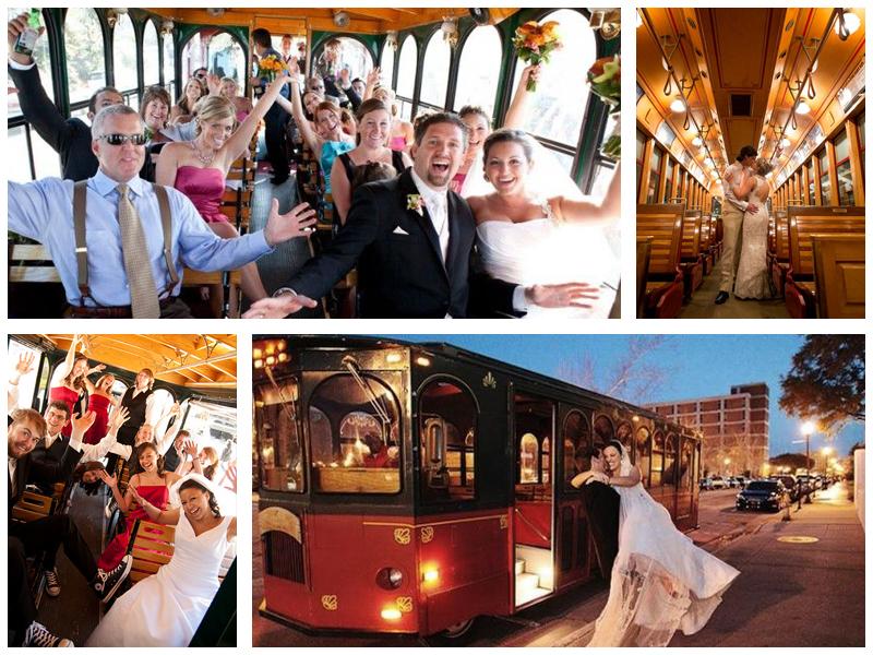 Свадебная фотосессия в трамвае